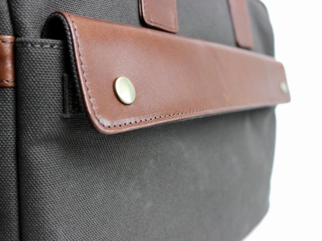 Work bag (倉敷帆布×本革)