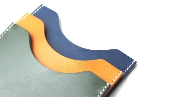 栃木レザー使用のカードケース『ONE』