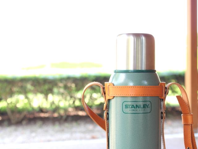 スタンレーボトルストラップ(1ℓ)- ヌメ革(栃木レザー)